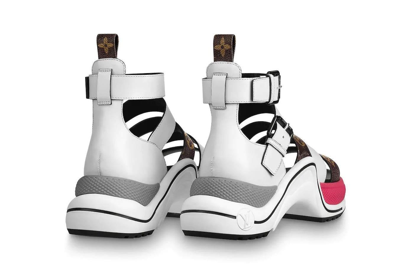 Louis Vuitton's Archlight Sandal White