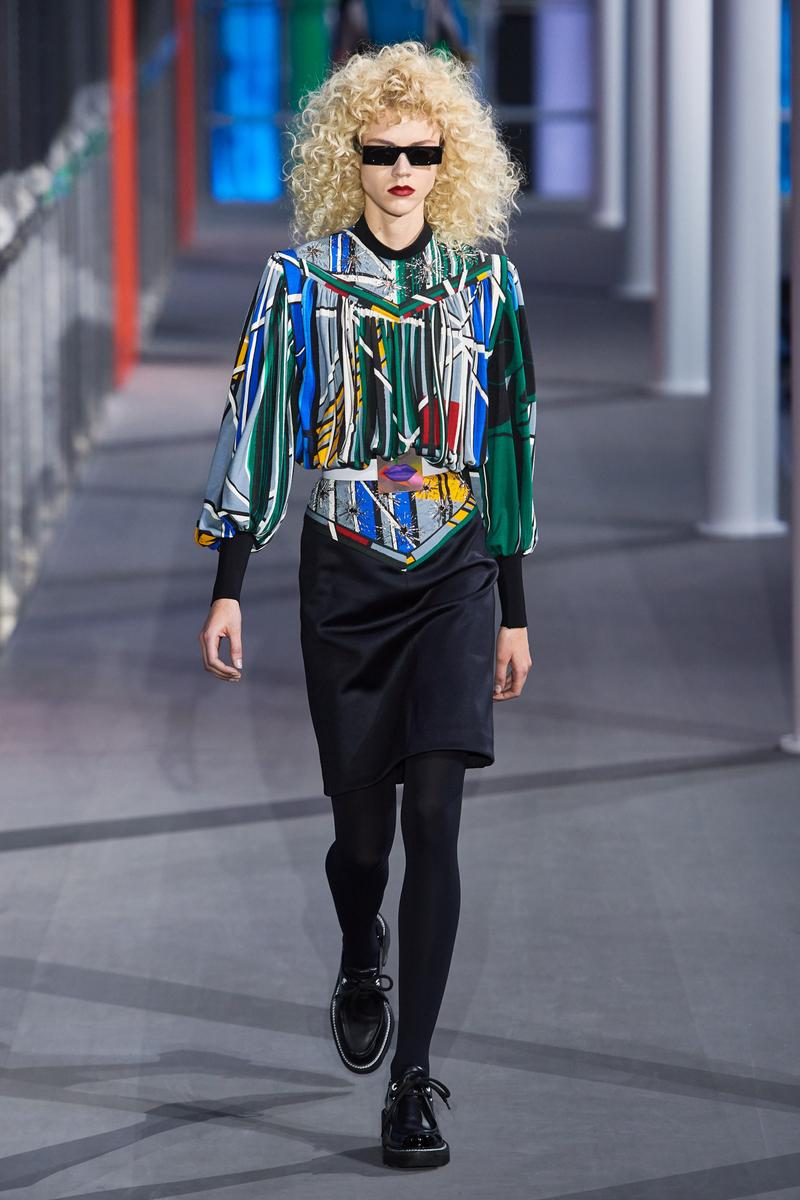 Louis Vuitton Paris Fashion Week FW19 Collection Fall Winter 2019 Ready to Wear Louvre Museum PFW Nicolas Ghesquiere