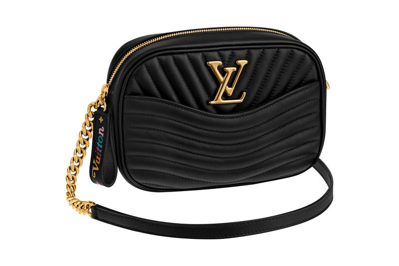 Louis Vuitton New Wave Bumbag Camera Bag Fanny Pack Pink Black White