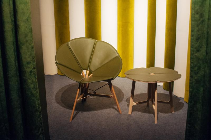 Louis Vuitton Objets Nomades Hong Kong Exhibit Chair Table Green