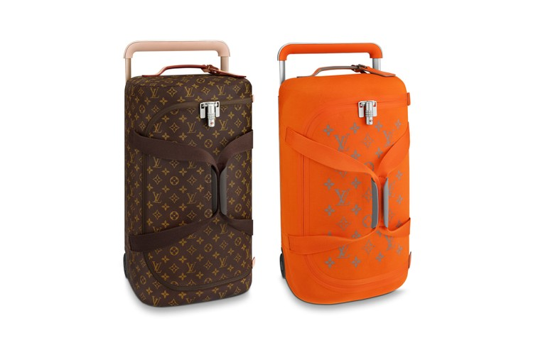 96a9bc18feb6 Louis Vuitton Unveils New Logo Luggage Collection Perfect for Your Travels