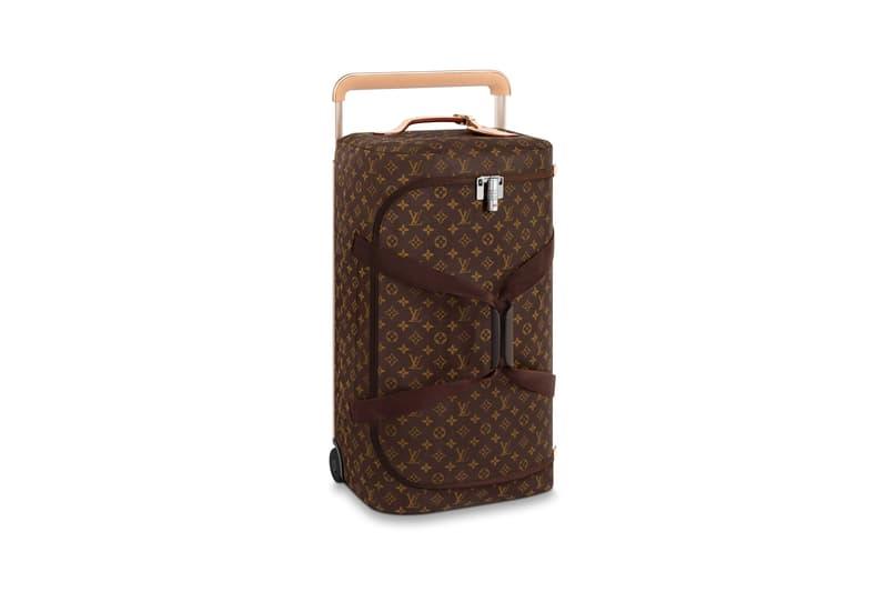 Louis Vuitton Horizon Soft Luggage Logo Collection Brown