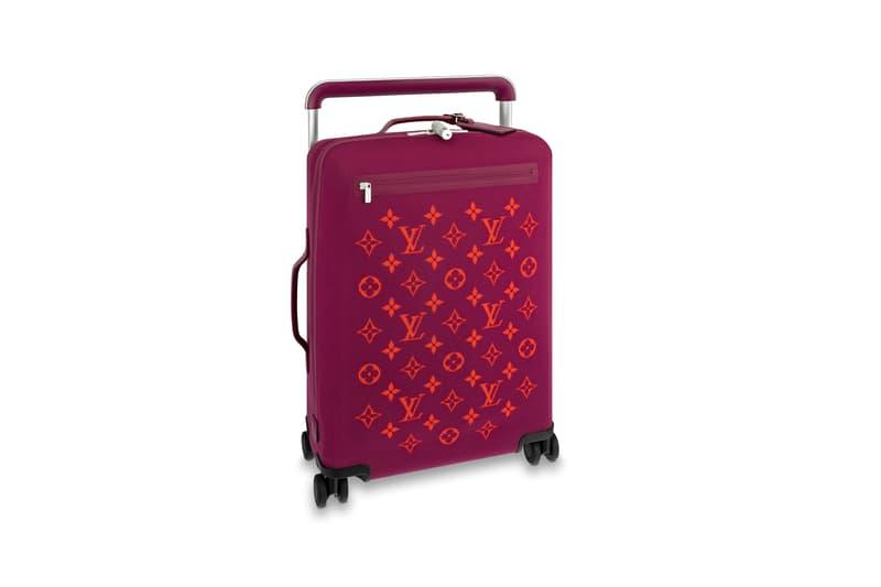 Louis Vuitton Horizon Soft Luggage Logo Collection Magenta