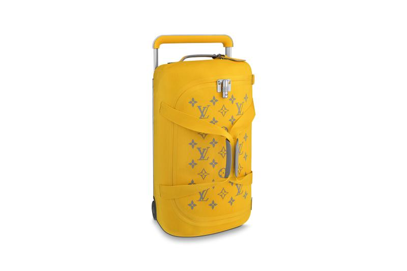Louis Vuitton Horizon Soft Luggage Logo Collection Yellow
