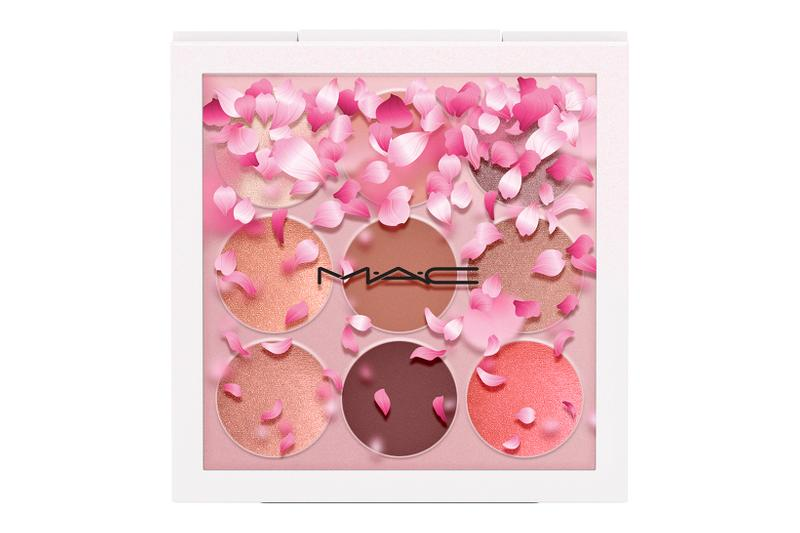 MAC Boom Boom Bloom Sakura Cherry Blossom Makeup Collection Lipstick Lipglass Highlighter Eyeshadow Palette
