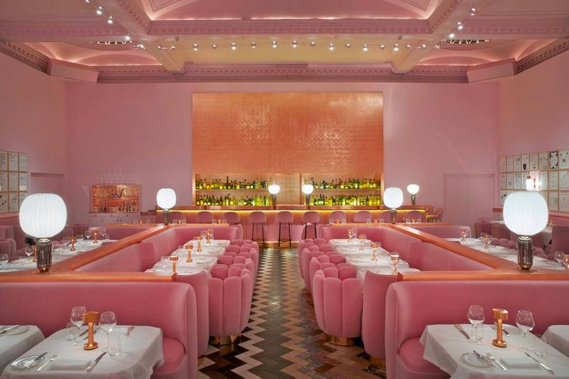 Sketch London The Gallery Afternoon Tea Pink Interior Design Instagrammable Instagram Friendly Restaurant Cafe United Kingdom UK Desserts Lunch Dinner