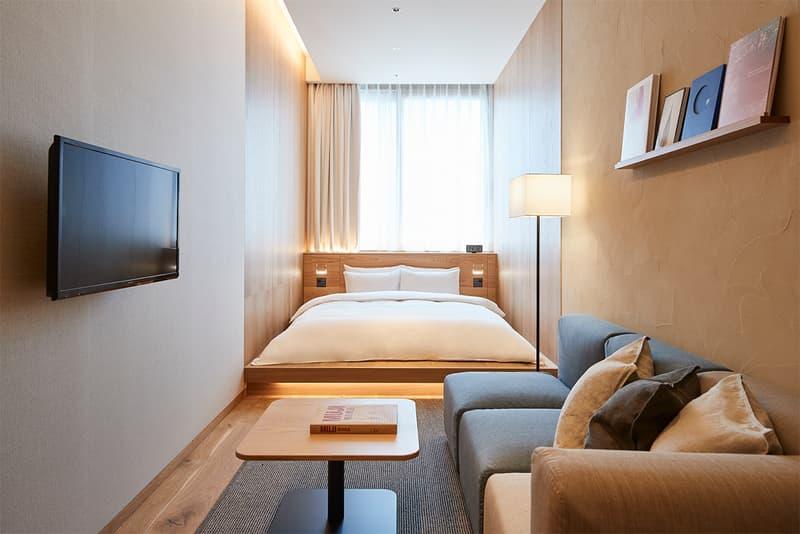 Muji Hotel Ginza Tokyo Japan Interior Minimalist Travel Bed Bedroom