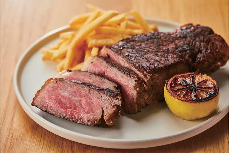 Muji Hotel Ginza Tokyo Japan Interior Minimalist Travel Dinner Beef Steak Restaurant Cafe