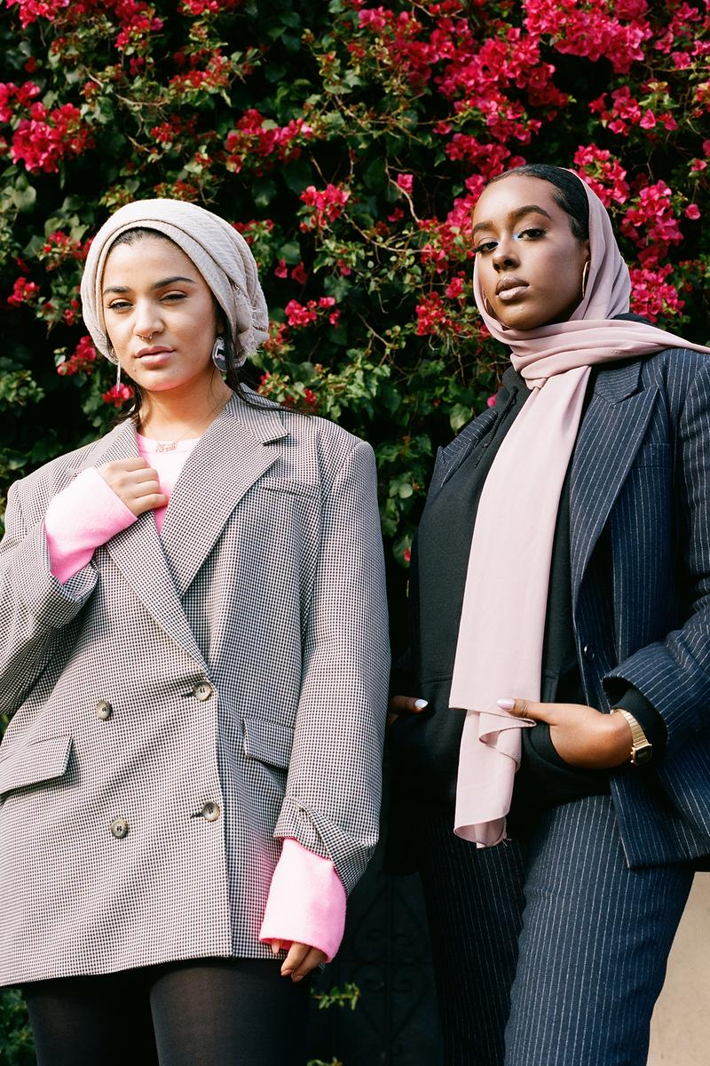 Reem Motaweh About that Wrap Modest Dressing Muslim Women's Day Girls Women Woman Los Angeles Editorial Streetwear Fashion Ira Chernova