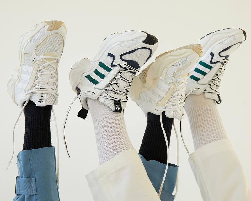 Naked x adidas Consortium Magmur Sneaker Release White Green Blue White Friends and Family