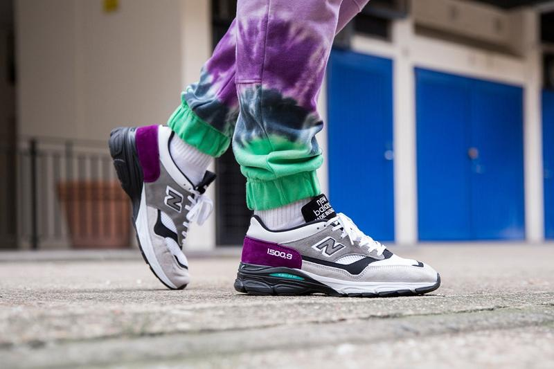 brand new f07f5 e6da5 New Balance Made in UK Spring Summer 2019 Collection 1500.9 Sneaker Purple  Grey White