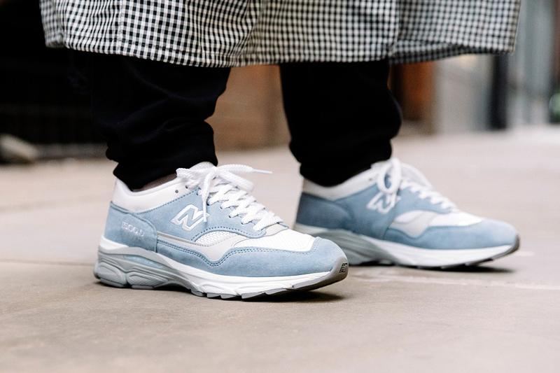 New Balance Made in UK Spring Summer 2019 Collection 1500.9 Sneaker Blue White