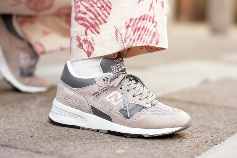 New Balance Made in UK Spring Summer 2019 Collection 1530 Sneaker Grey White