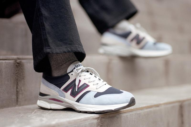 New Balance Made in UK Spring Summer 2019 Collection Sneaker White Blue