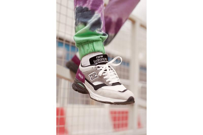 New Balance Made in UK Spring Summer 2019 Collection 1500.9 Sneaker Grey Purple