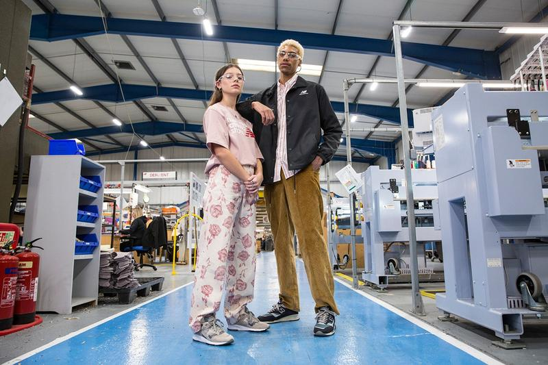 New Balance Made in UK Spring Summer 2019 Collection 1530 Sneaker Grey Teal Black Top Pants Pink