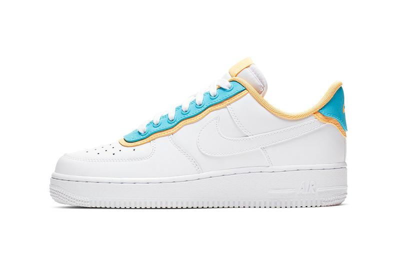 Nike Air Force 1 Pack Peach Sky Blue