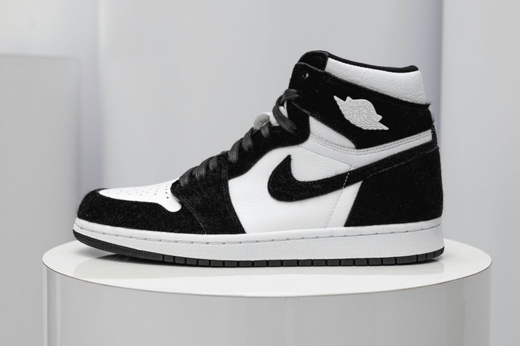 17905eee05fb Your First Look at Nike s Fuzzy Air Jordan 1 High