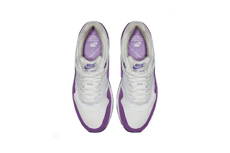 Nike Air Max 1 Atomic Violet Purple Lilac White Sneakers Trainers Release Info