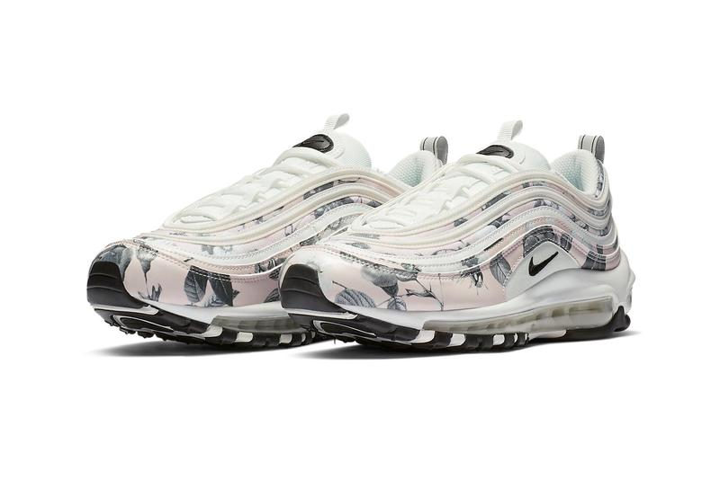 Nike Air Max 97 Pastel Pink Floral Sneakers Trainers