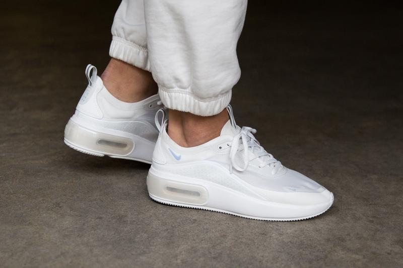 "Nike Air Max Dia ""Triple White"" Release Date Simple Sneaker Shoe Minimal Colorway Womens"