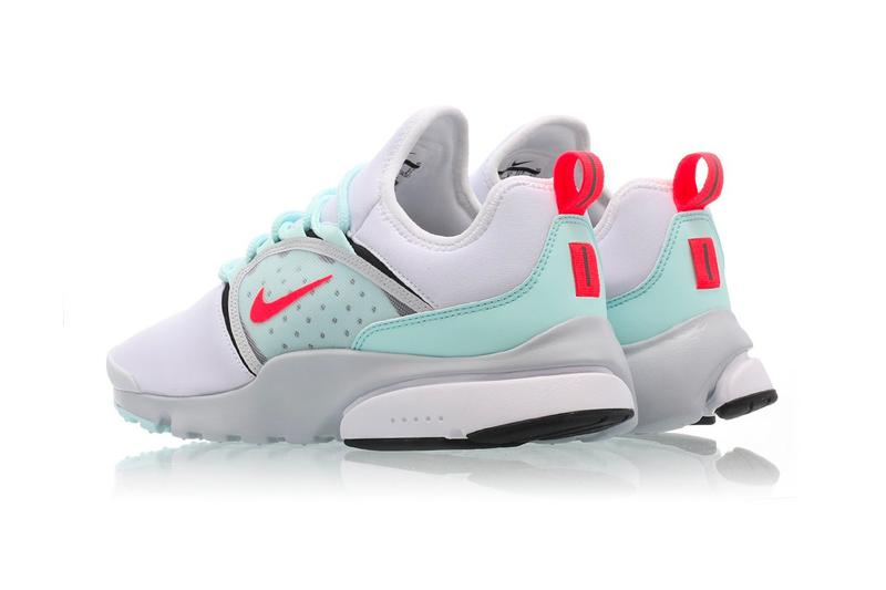 Nike Air Presto Fly World White Oriental Poppy Skylight