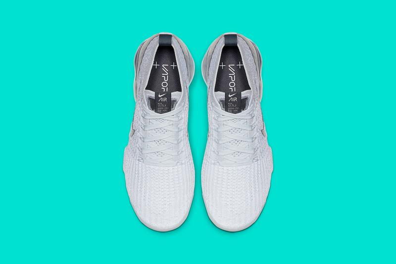 Nike Air VaporMax Flyknit 3.0 White Metallic Silver