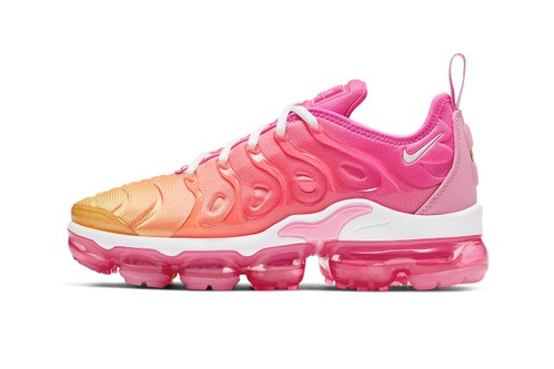 e50f2c285f Nike's Ombré Hot Pink Air VaporMax Plus Is the Ultimate Summer Sneaker