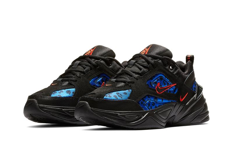 """Nike Air Force 1 M2K Tekno """"Black Leopard"""" Pack Air Max 1 Air Max 95 Air Max 98 Black Red Blue Sneaker Release Footwear Drop Where to Buy Spring Shoes"""