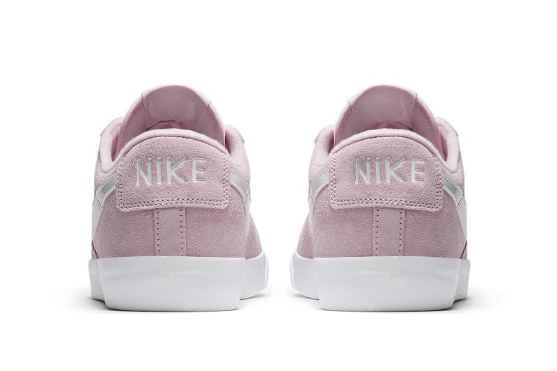 Nike Blazer Low Pastel Pink and Green Sneaker Release Drop Spring Footwear Shoe Trainer
