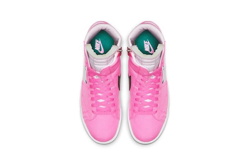 Nike Blazer Mid Rebel Pink White