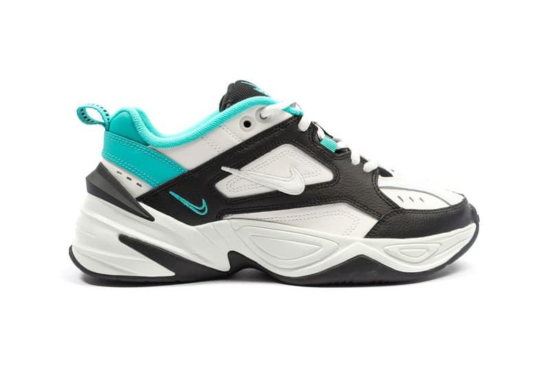 Nike M2K Tekno White Black Turquoise