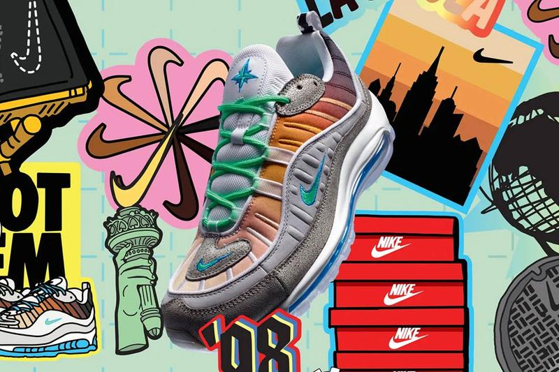 finest selection a274a b3737 Nike On Air Air Max 98 97 1 Shanghai Seoul Paris New York Tokyo