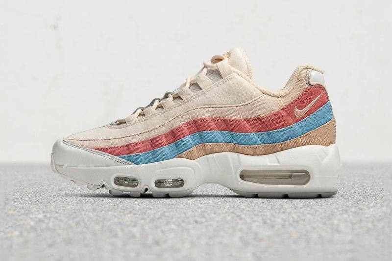 Nike Plant Color Collection Air Max 95 Red Cream Blue White