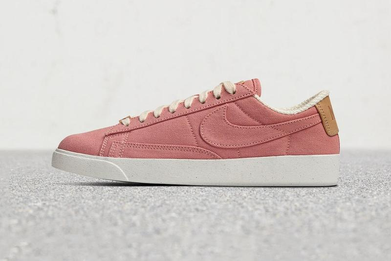 Nike Plant Color Collection Blazer Low Cream Dark Pink