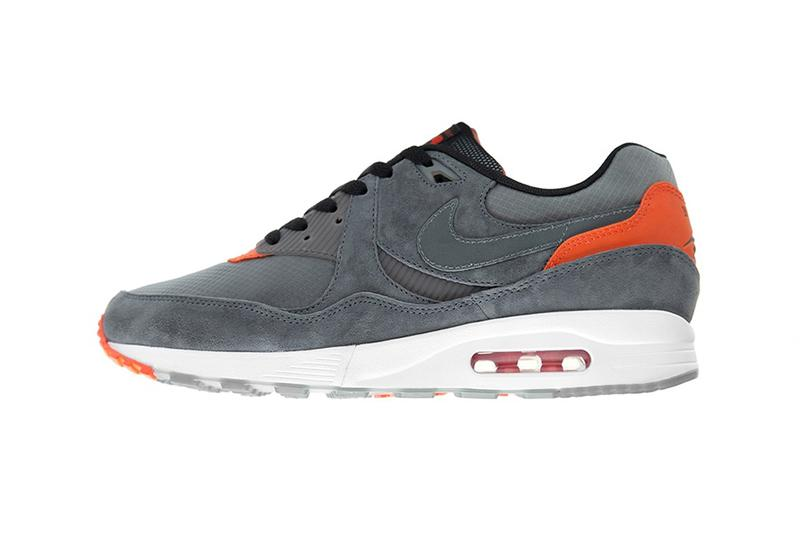 size? x Nike Air Max Light Grey Orange White