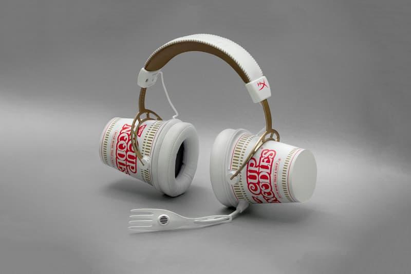 Nissin Cup Noodles x HyperX Headphones White