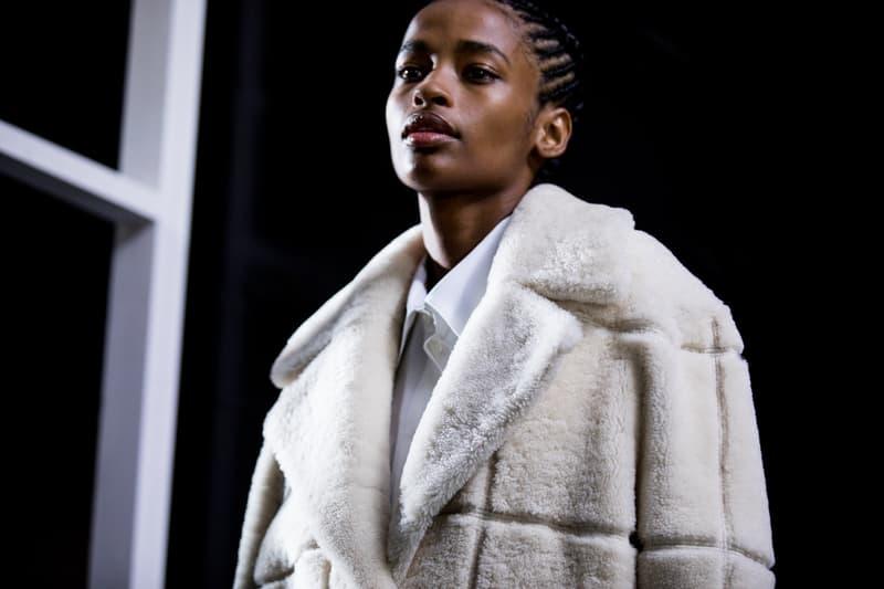Backstage at Off-White™ Fall/Winter 2019 Show Paris Fashion Week Virgil Abloh Bella Hadid Gigi Hadid Karlie Kloss Adut Akech Collection Presentation Beauty