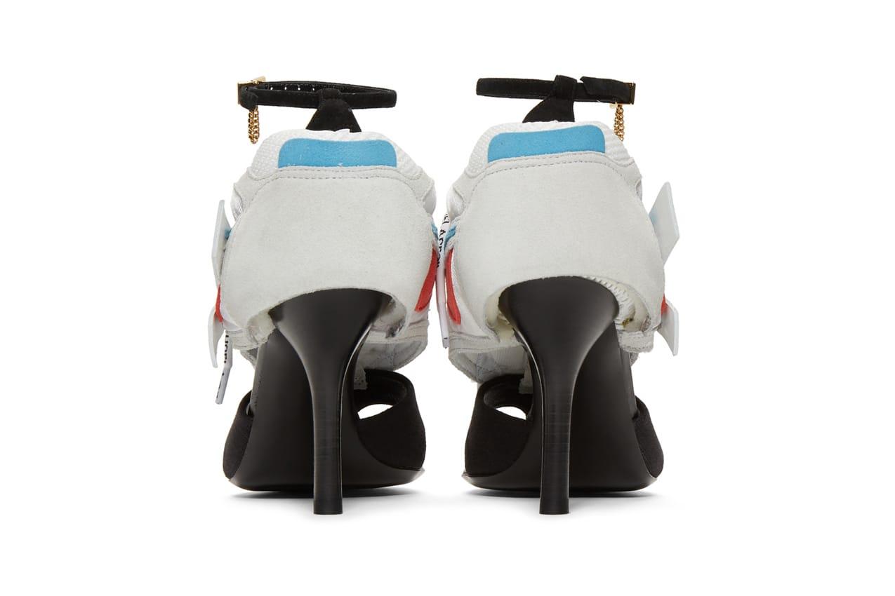 Arrow Runner Heel Sandals