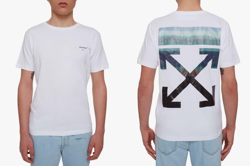 Off White Gente Roma Gradient Arrows T Shirt