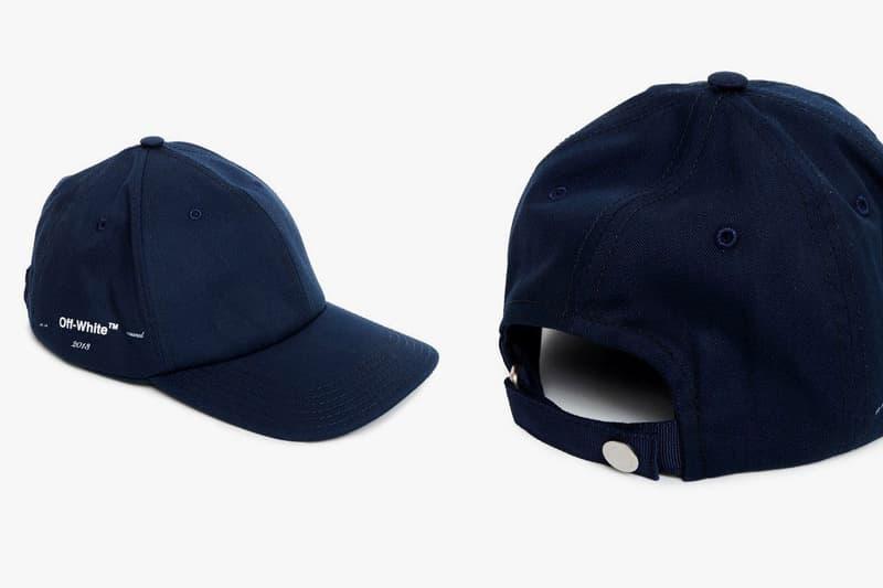Off White Gente Roma Logo Printed Baseball Cap