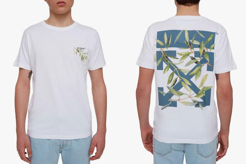 Off White Gente Roma Leaves Arrow T Shirts