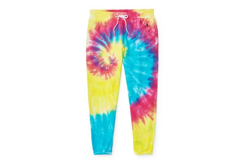 Polo Ralph Lauren Pinwheel Tie-Dye Hoodie Track Pants T Shirt Adwoa Aboah