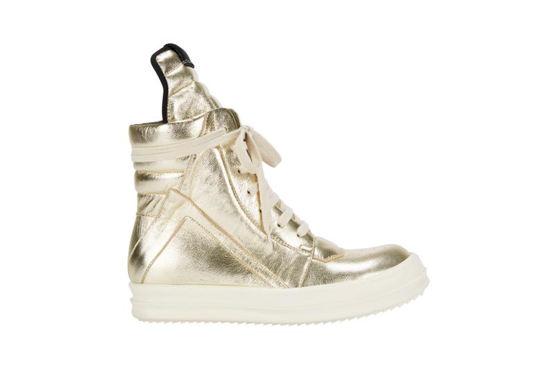 Rick Owens x Pat McGrath Labs Sneaker Gold