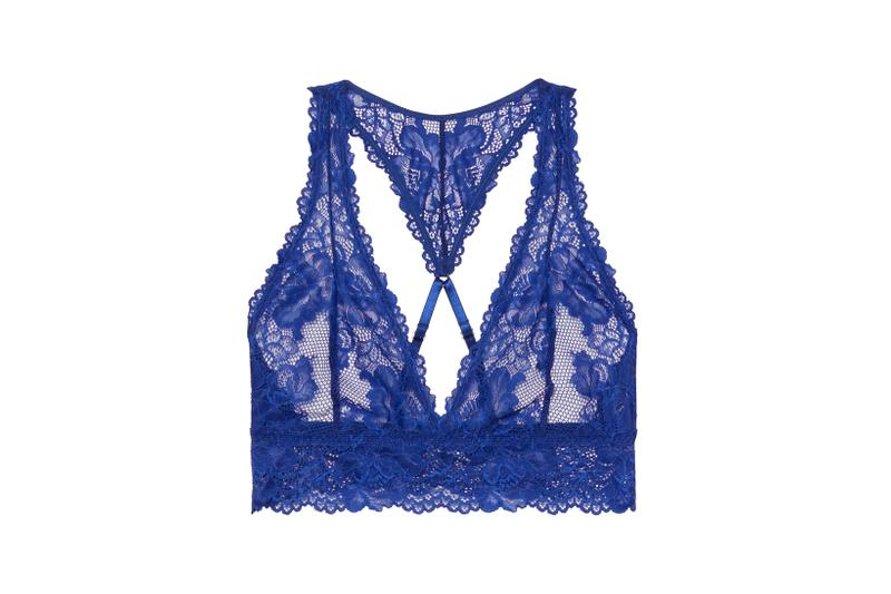 Savage X Fenty Lace Bralette Blue