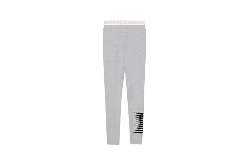Savage X Fenty Logo Legging Grey