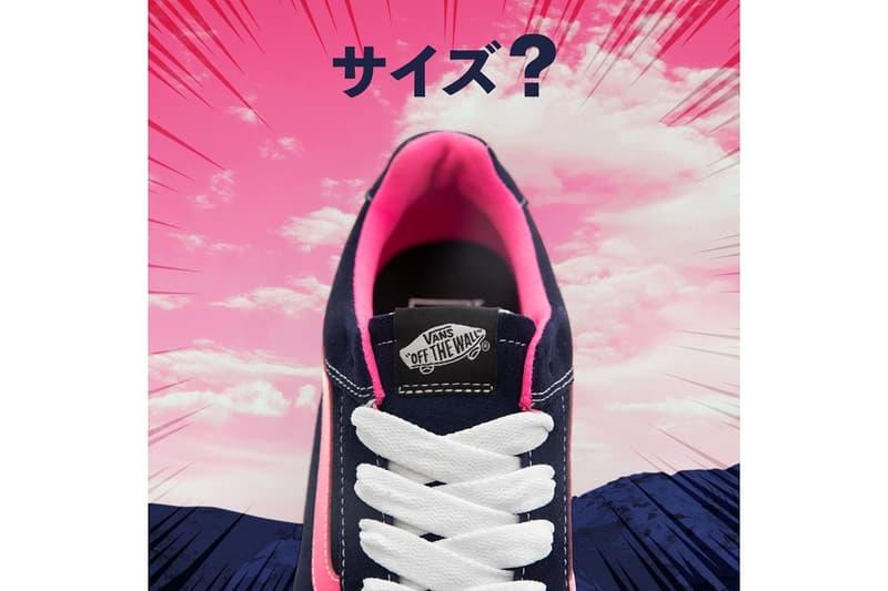 size? x Vans Highland Yukiko Black Pink White