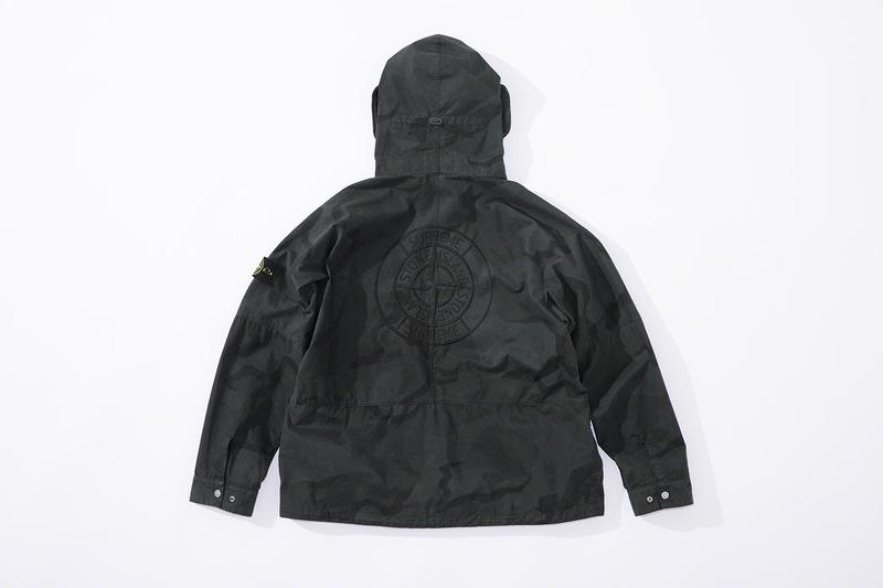 Stone Island x Supreme Spring/Summer 2019 Drop Collection Full Range Items Release Date Outerwear Jackets Full Look