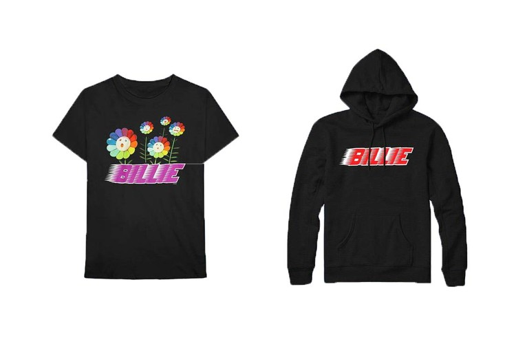 1fd4fd3853c6d6 Takashi Murakami x Billie Eilish s Limited-Edition Merch Is Available  Online Now