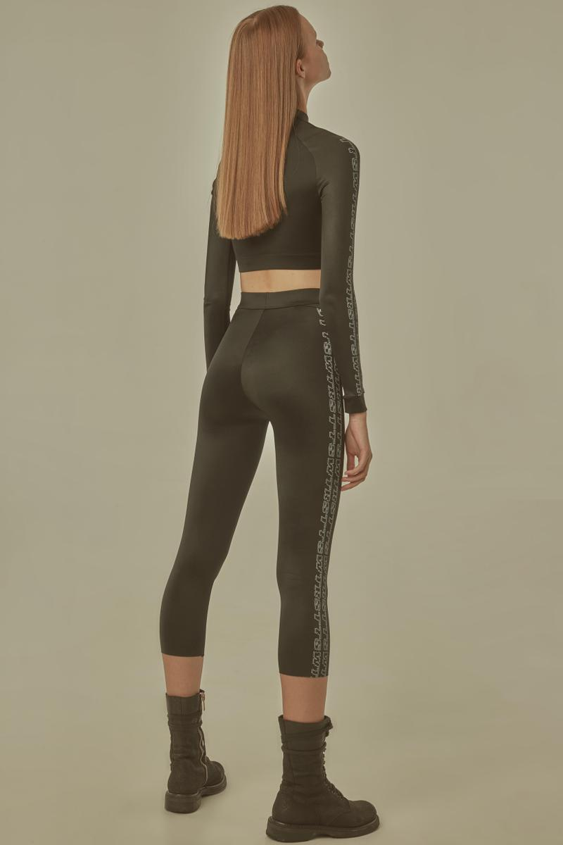 TTSWTRS Spring Summer 2019 Lookbook Leggings Shirt Black